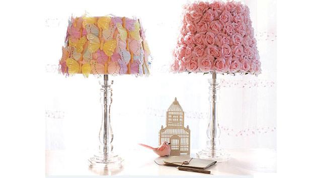 15 Girly DIY Lamp Shade Designs Home Design Lover