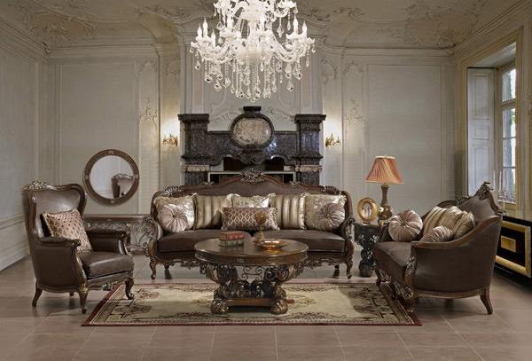 cream colored leather sofas dfs chocolate brown sofa 15 wondrous victorian styled living rooms | home design lover