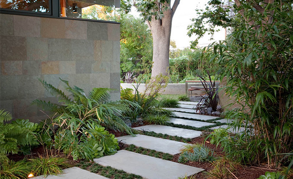 Take A Step On 15 Garden Pathway Designs Home Design Lover