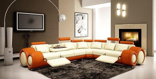 15 curved modular and sectional sofa
