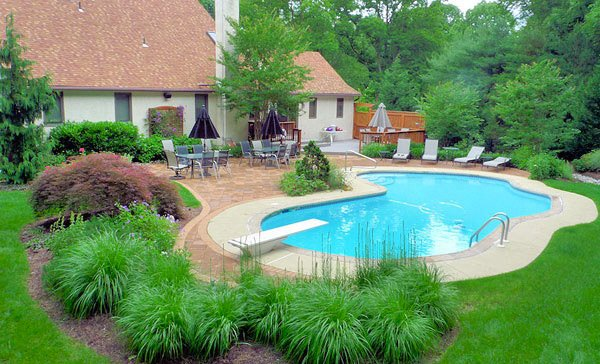 pool landscape design ideas