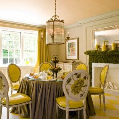 Chairs For Baby Room Office Chair Arms 17 Bright And Pretty Yellow Dining Designs | Home Design Lover
