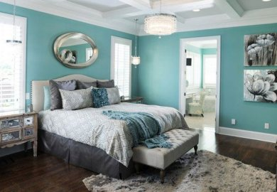 Colorful Master Bedrooms