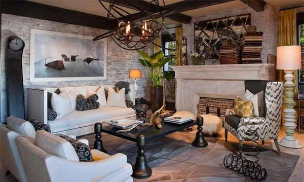 pillow covers for living room farmhouse decor brick wall accents in 15 designs | home design ...