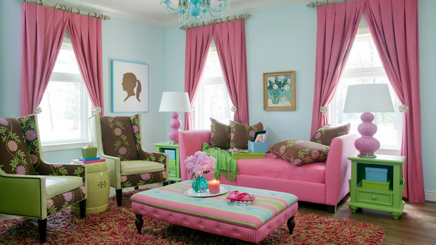 sitting pretty sofas how to repair large tear in leather sofa 15 pink living room designs | home design lover