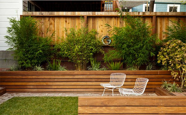 Take A Look At 15 Designs Of Wooden Outdoor Planters Home Design