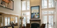 How to Decorate an Interior with High Ceilings | Home ...