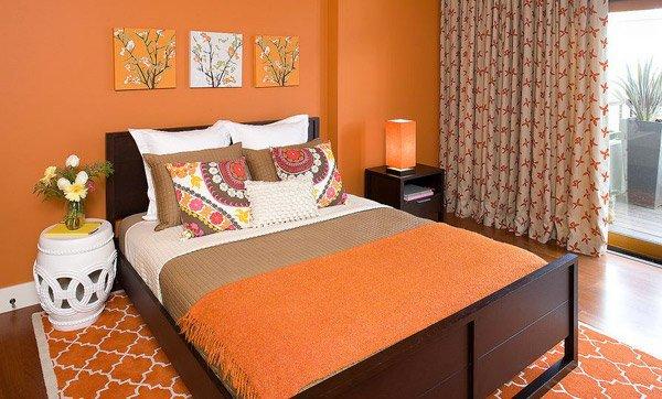 15 Orange Bedroom Designs Home Design Lover