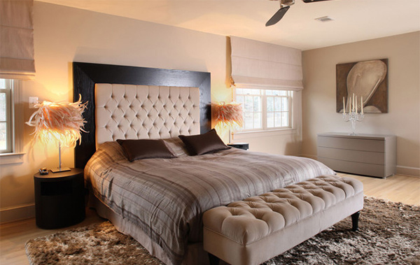 Customize Your Bedroom with 15 Upholstered Headboard