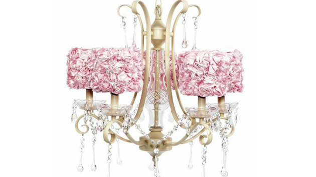 15 Alluring Pink Chandeliers for a Girls Bedroom  Home