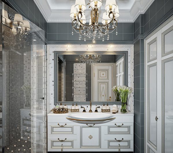 15 Traditional Bathroom Vanities in Luxurious Classic Setting  Home Design Lover