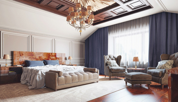 Elaborate Opulence in 20 Luxurious Bedroom Designs  Home Design Lover