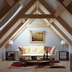 Gray Living Room Furniture Ideas Blue And Tan Walls 15 Well-designed Spaces In The Attic | Home Design ...
