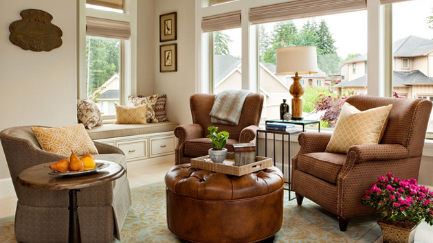 15 Pretty Living Room Windows  Home Design Lover