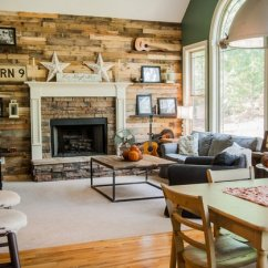 Rustic Living Room Designs Paint With Brown Leather Furniture 15 Homey Home Design Lover