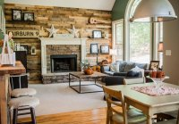 15 Homey Rustic Living Room Designs   Home Design Lover