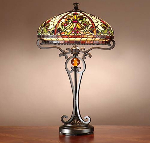 15 Intricate Tiffany Table Lamp Designs  Home Design Lover