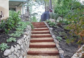 15 Inspiring Designs of Garden Stairs   Home Design Lover