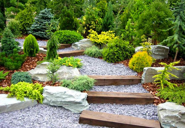 inspiring design of garden