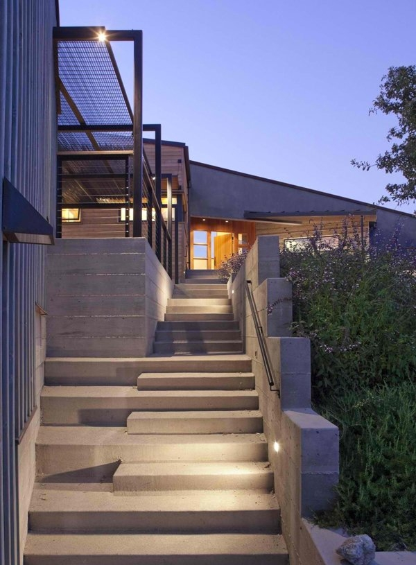 15 Concrete External Staircase Layout List Deluxe | Outside Stairs Design For House