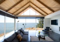 18 Living Room Designs with Vaulted Ceiling | Home Design ...