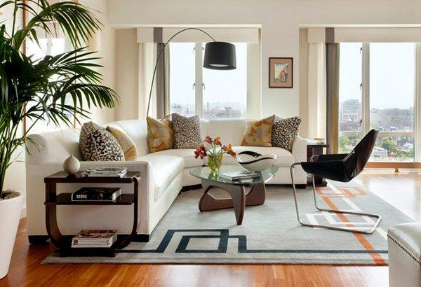 orange slice chair swing on rent 20 gorgeous living room furniture arrangements | home design lover
