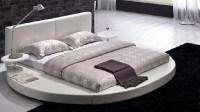 15 Fashionable Round Platform Beds | Home Design Lover