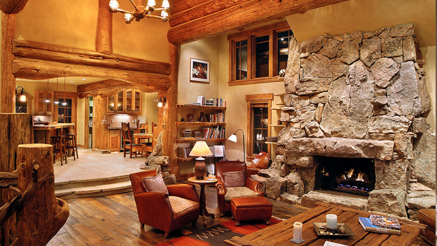 rustic living rooms room colors gray couch 15 homey designs home design lover