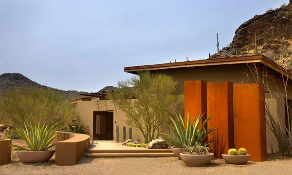 parched desert landscaping ideas