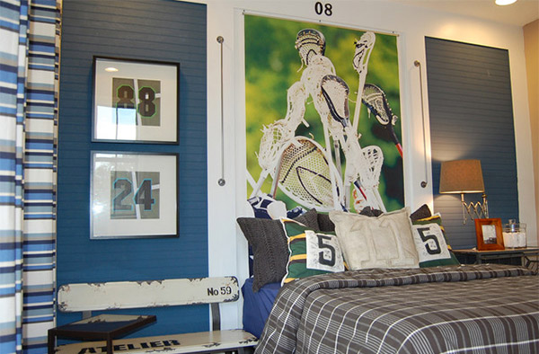 athletic with 15 sports bedroom ideas
