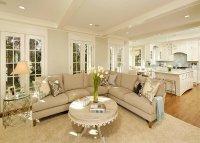 15 Homey Contemporary Open Living Room Ideas   Home Design ...