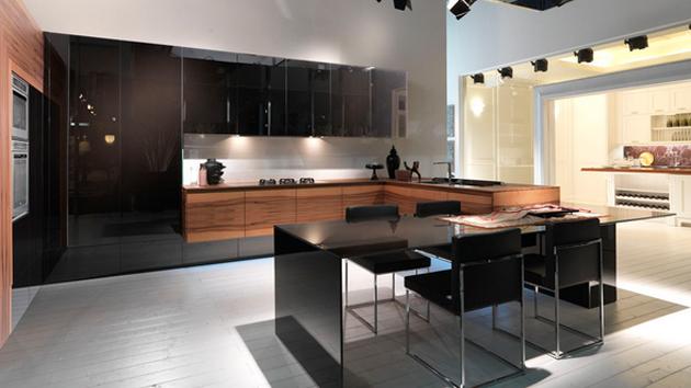 15 Awesome Black Tan Kitchen Designs Home Design Lover