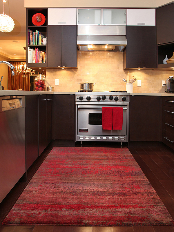 kitchen carpets movable cabinets 15 area rug designs in kitchens | home design lover