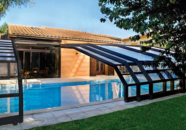 15 Stylish Pool Enclosure for YearRound Pool Usage  Home Design Lover