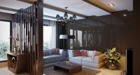 15 Beautiful Foyer Living Room Divider Ideas | Home Design ...