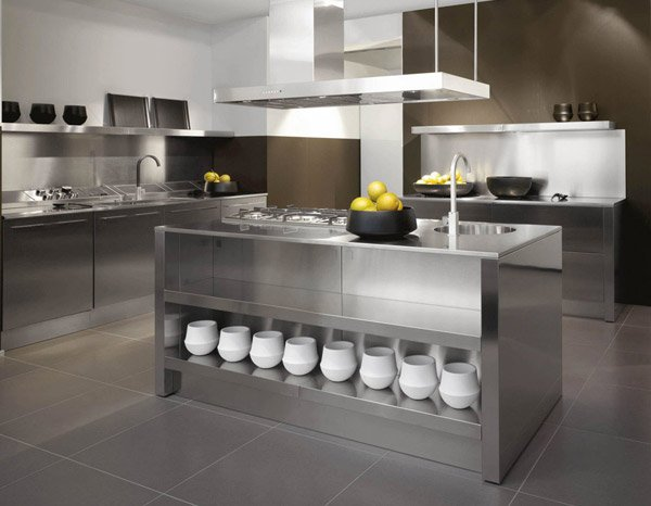 16 Metal Kitchen Cabinet Ideas Home Design Lover