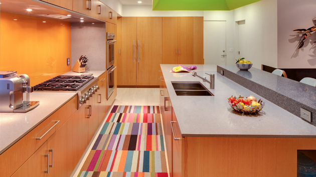 kitchen carpet scrubbers 15 area rug designs in kitchens home design lover