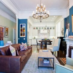 Color Ideas Living Room Brown Carpet Oversized Furniture 15 Interesting Combination Of And Blue Rooms ...
