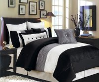 Home Design: 15 Black and White Bedding Sets