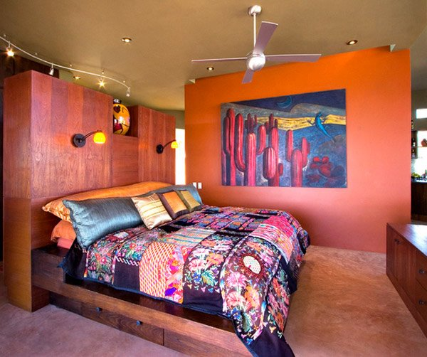 modern mexican bedroom design 15 Fun Bohemian Style Bedroom Designs | Home Design Lover