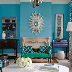 Living Room Ideas With Turquoise Walls Decorating Blue Sofa 15 Scrumptious Home Design Lover Furniture Decors