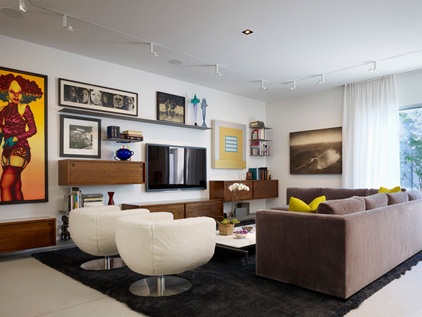 tv wall mount designs for small living room built in shelves ideas 15 modern day home design lover