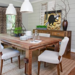 Condo Interior Design Ideas Living Room Rooms With Brown Leather Sofas Simple And Stunning: 15 Farmhouse Dining Designs ...