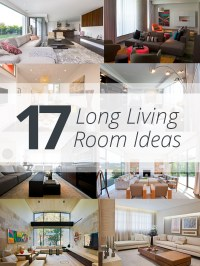 17 Long Living Room Ideas