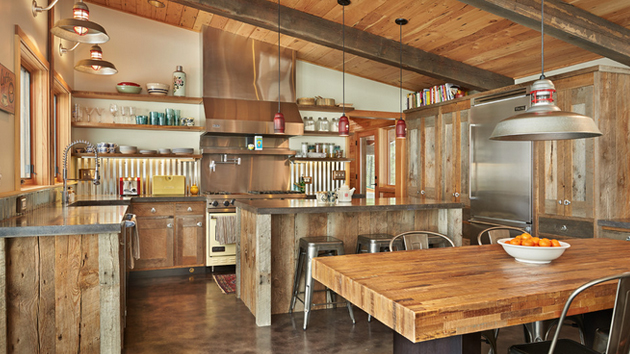 15 Interesting Rustic Kitchen Designs Home Design Lover