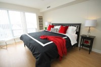 15 Pleasant Black, White and Red Bedroom Ideas | Home ...