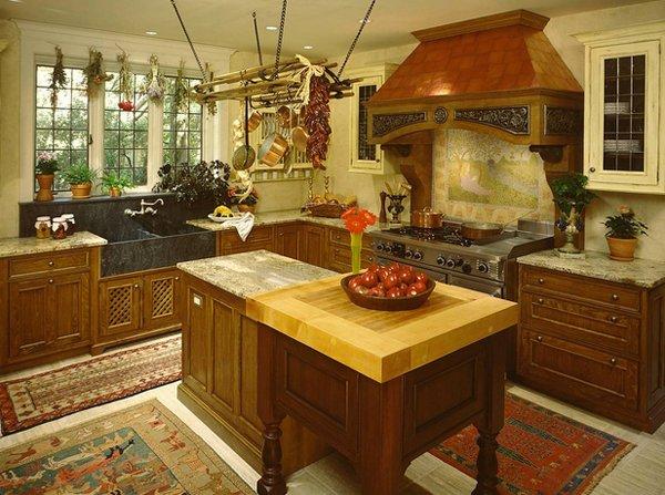 tudor style kitchen 15 Stunning Mediterranean Kitchen Designs | Home Design Lover
