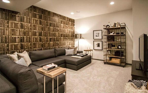 15 Modern And Contemporary Living Room Basement Designs Home Design Lover
