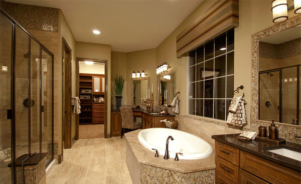 15 Beautiful Mediterranean Bathroom Designs Home Design