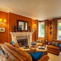 Burnt Orange Living Room Ideas Color Palette For 17 Awesome African Decor   Home Design Lover